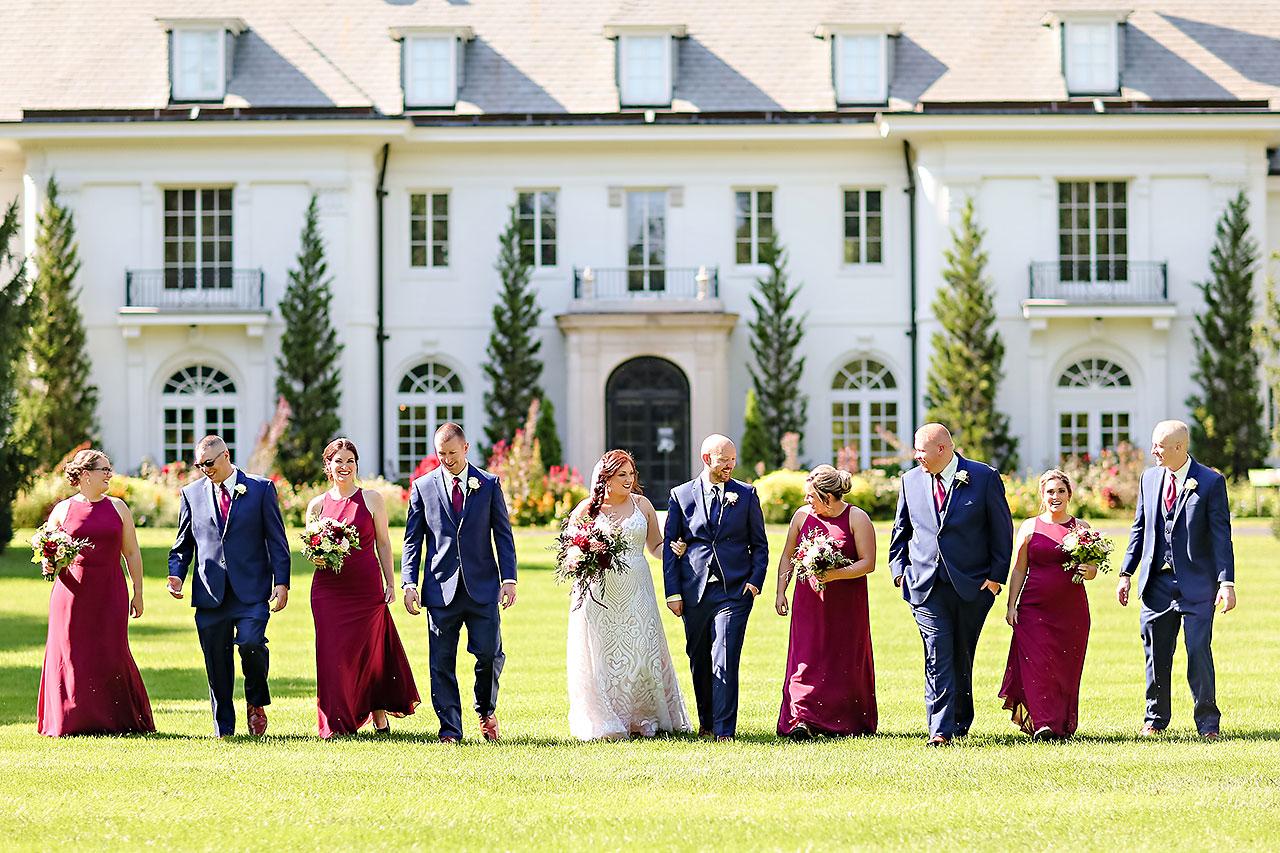 Jen Chris Ritz Charles Garden Pavilion Wedding 118
