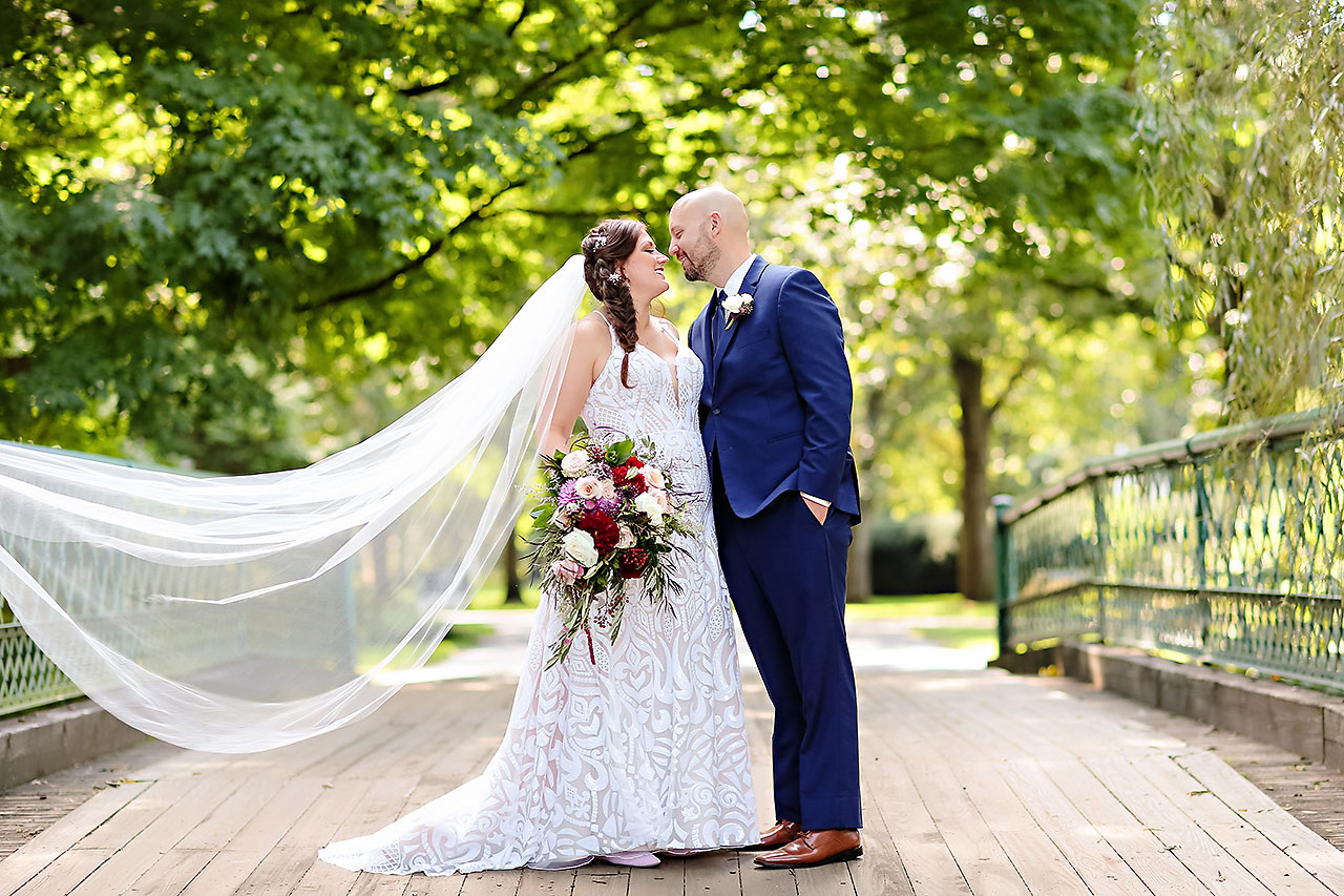 Jen Chris Ritz Charles Garden Pavilion Wedding 119