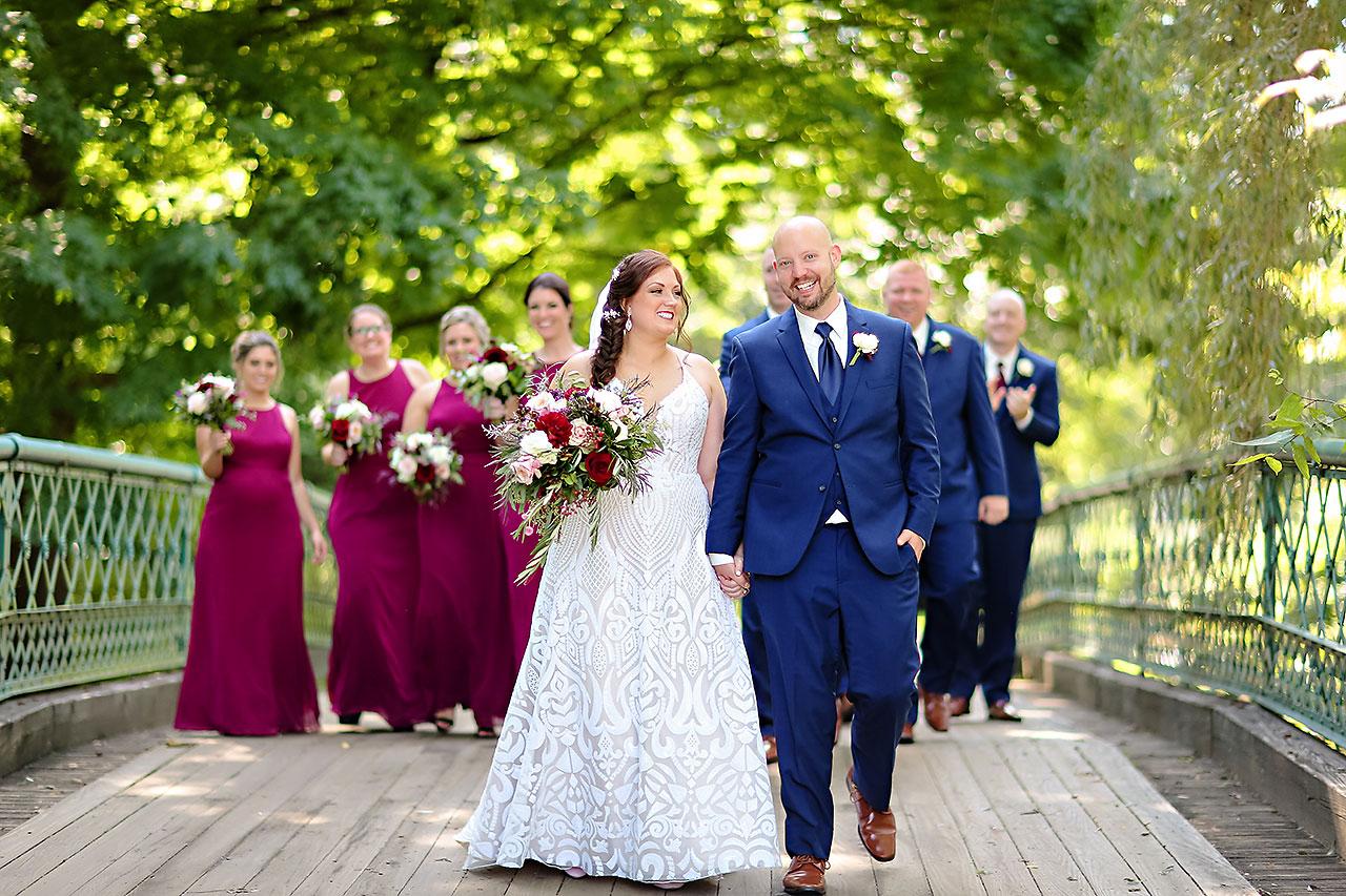 Jen Chris Ritz Charles Garden Pavilion Wedding 117
