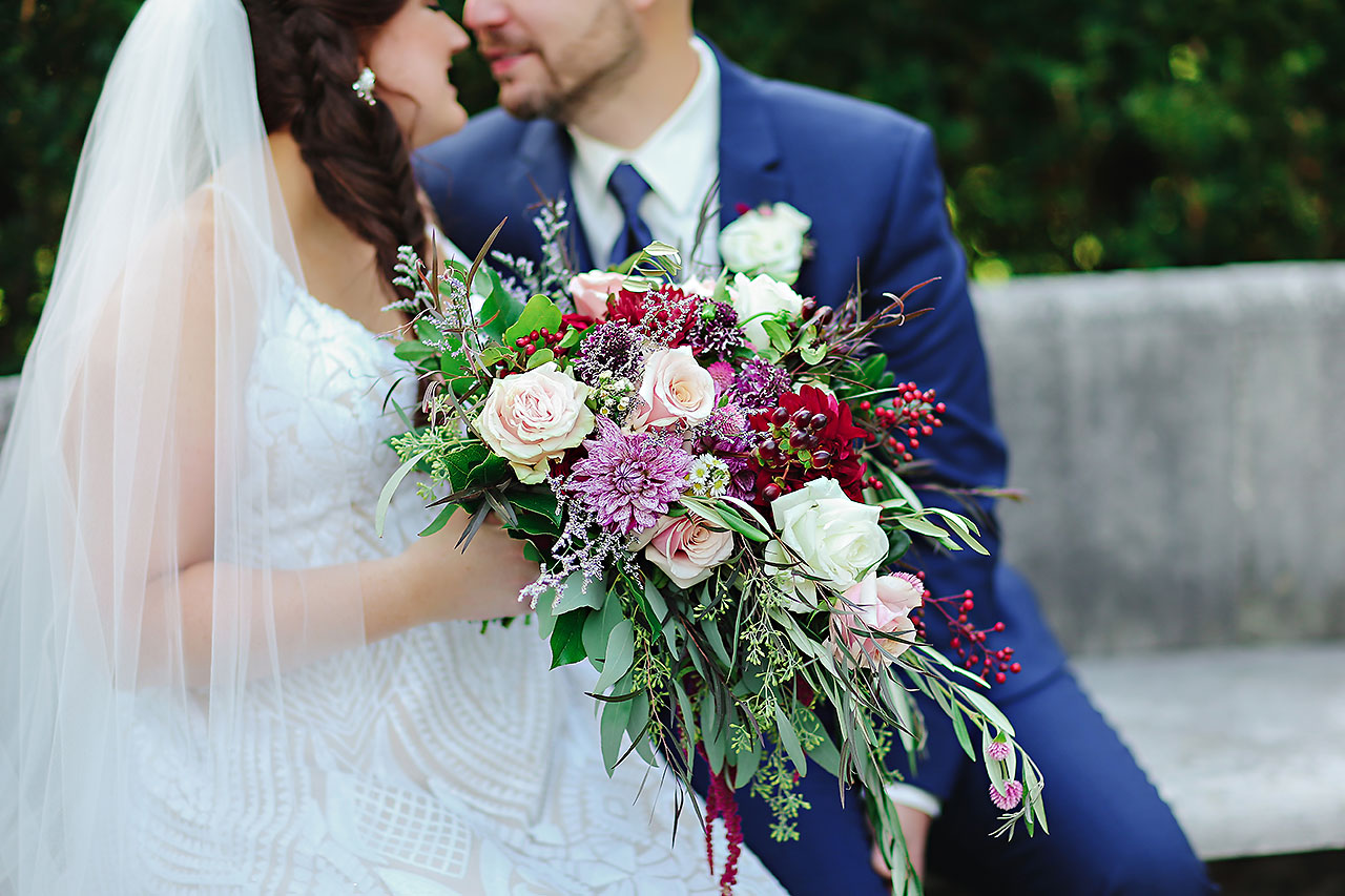 Jen Chris Ritz Charles Garden Pavilion Wedding 116