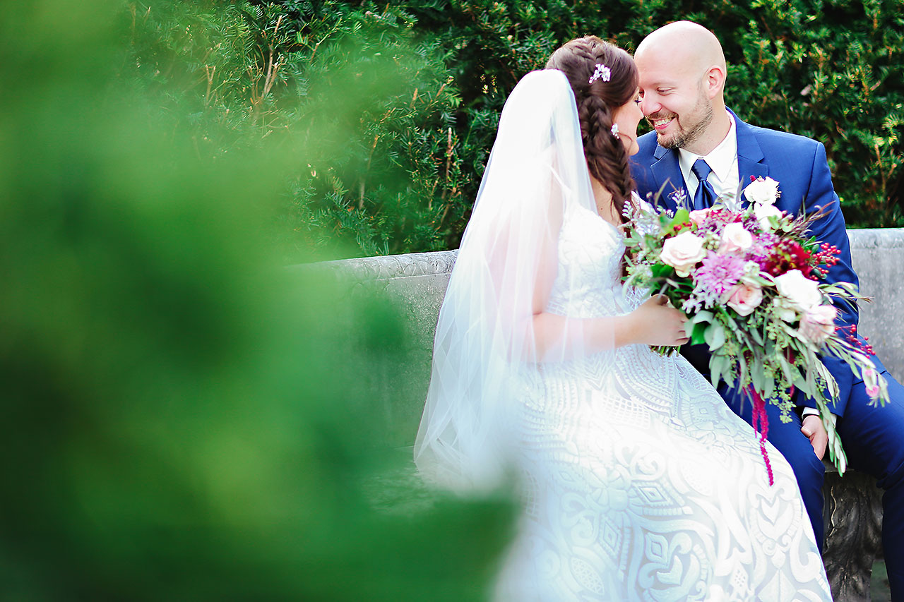 Jen Chris Ritz Charles Garden Pavilion Wedding 104