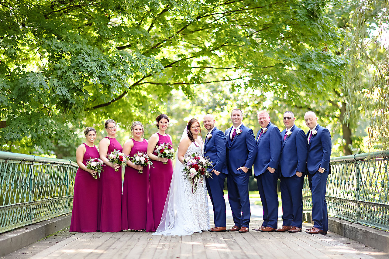 Jen Chris Ritz Charles Garden Pavilion Wedding 103