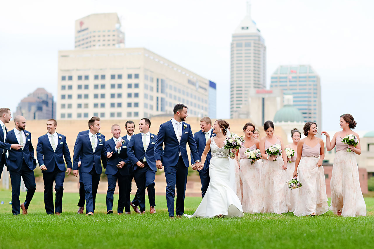 Kelsey Joe Mavris Indianapolis Wedding 227