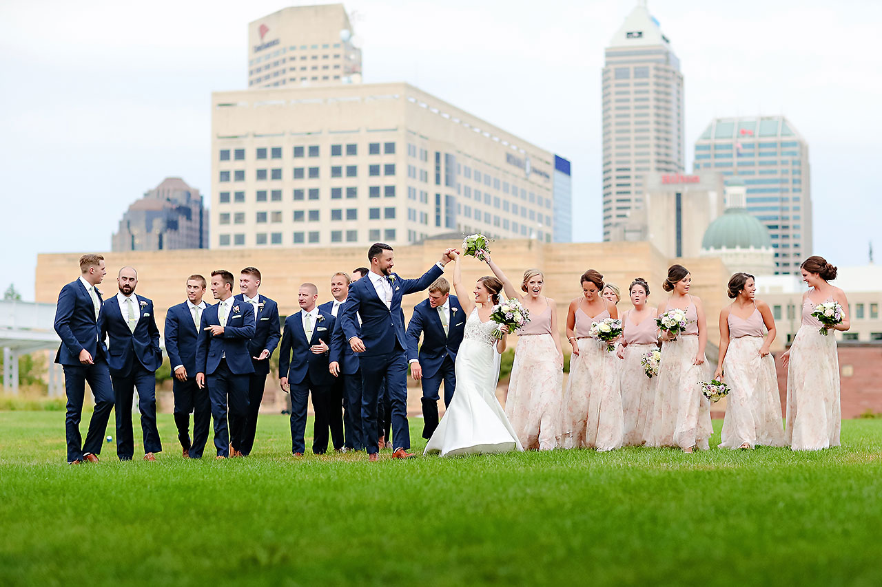 Kelsey Joe Mavris Indianapolis Wedding 206