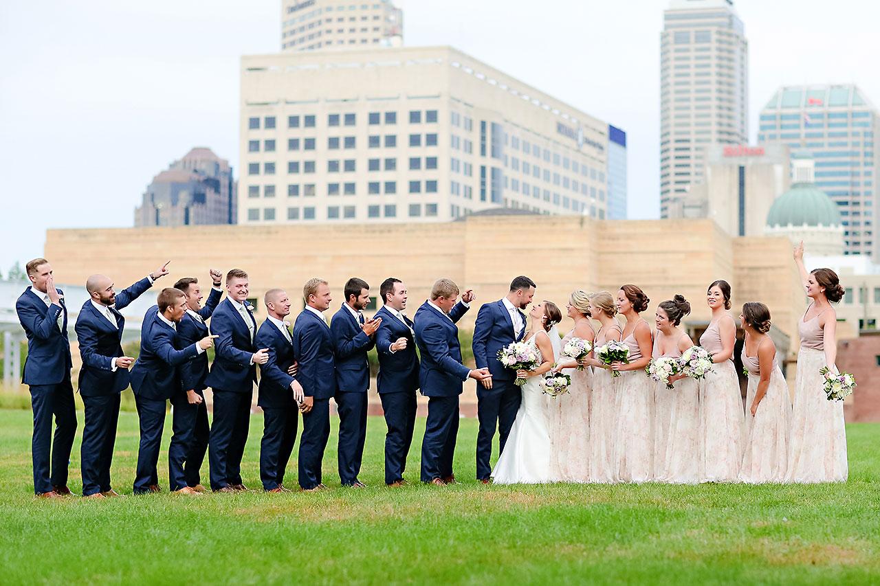 Kelsey Joe Mavris Indianapolis Wedding 199