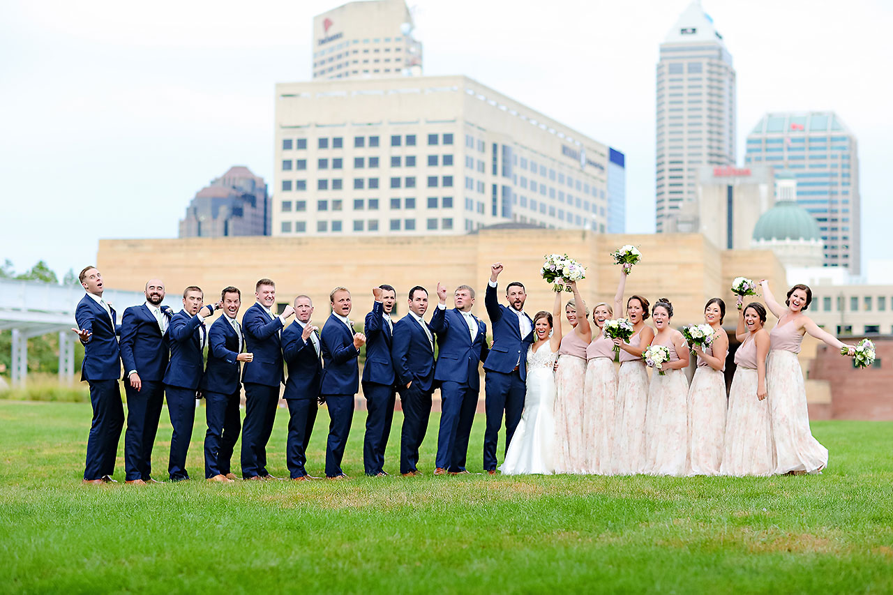Kelsey Joe Mavris Indianapolis Wedding 196
