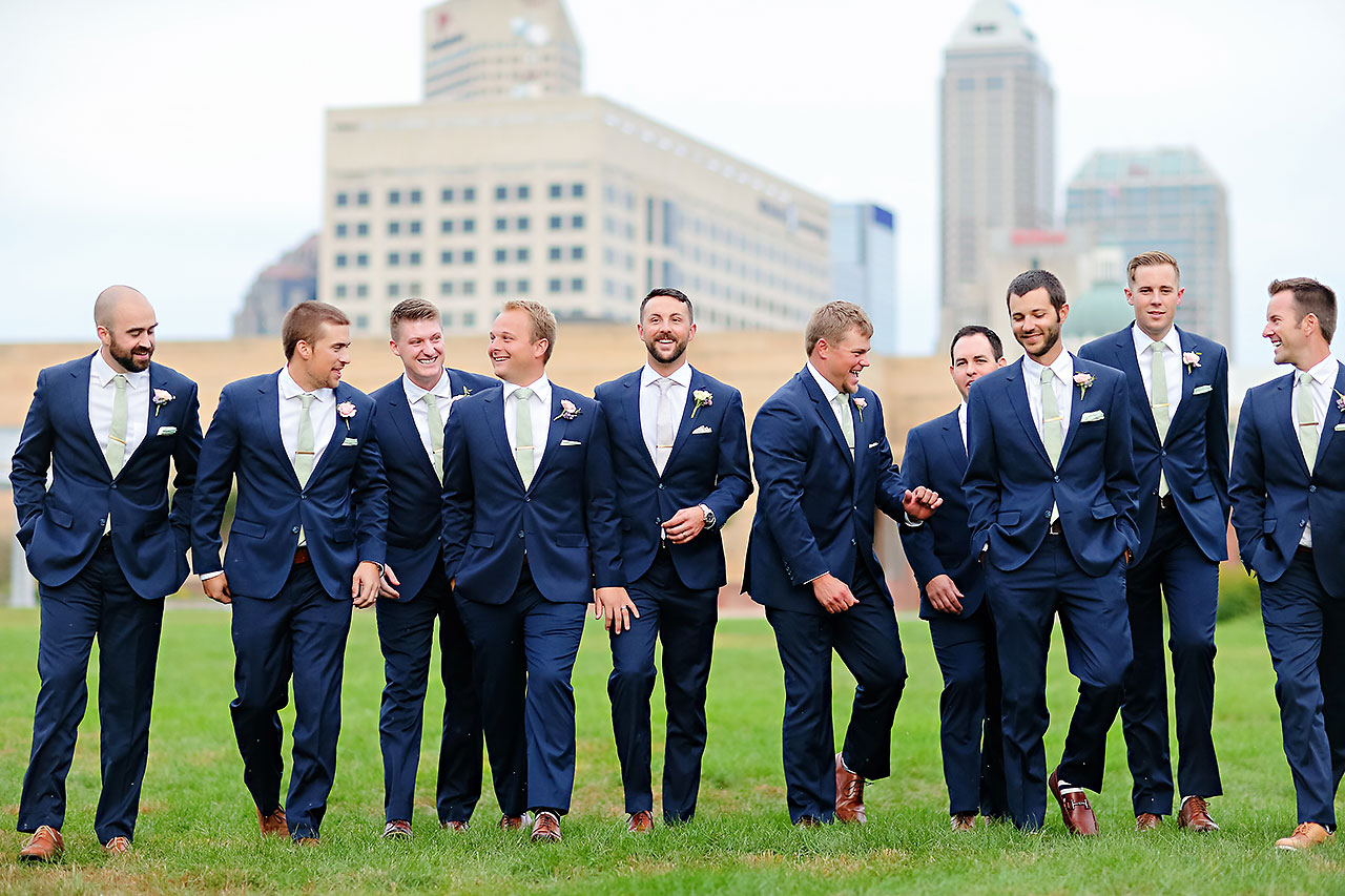 Kelsey Joe Mavris Indianapolis Wedding 177