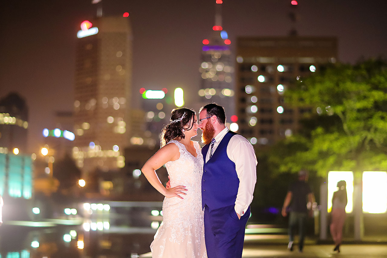 Kim Mike Indiana State Museum Wedding 359