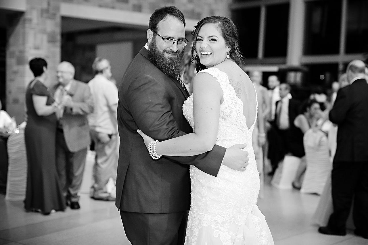 Kim Mike Indiana State Museum Wedding 311
