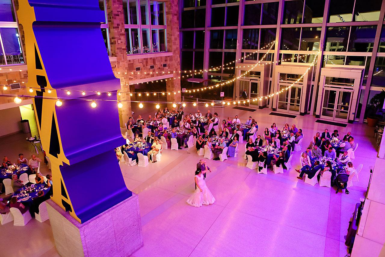 Kim Mike Indiana State Museum Wedding 296