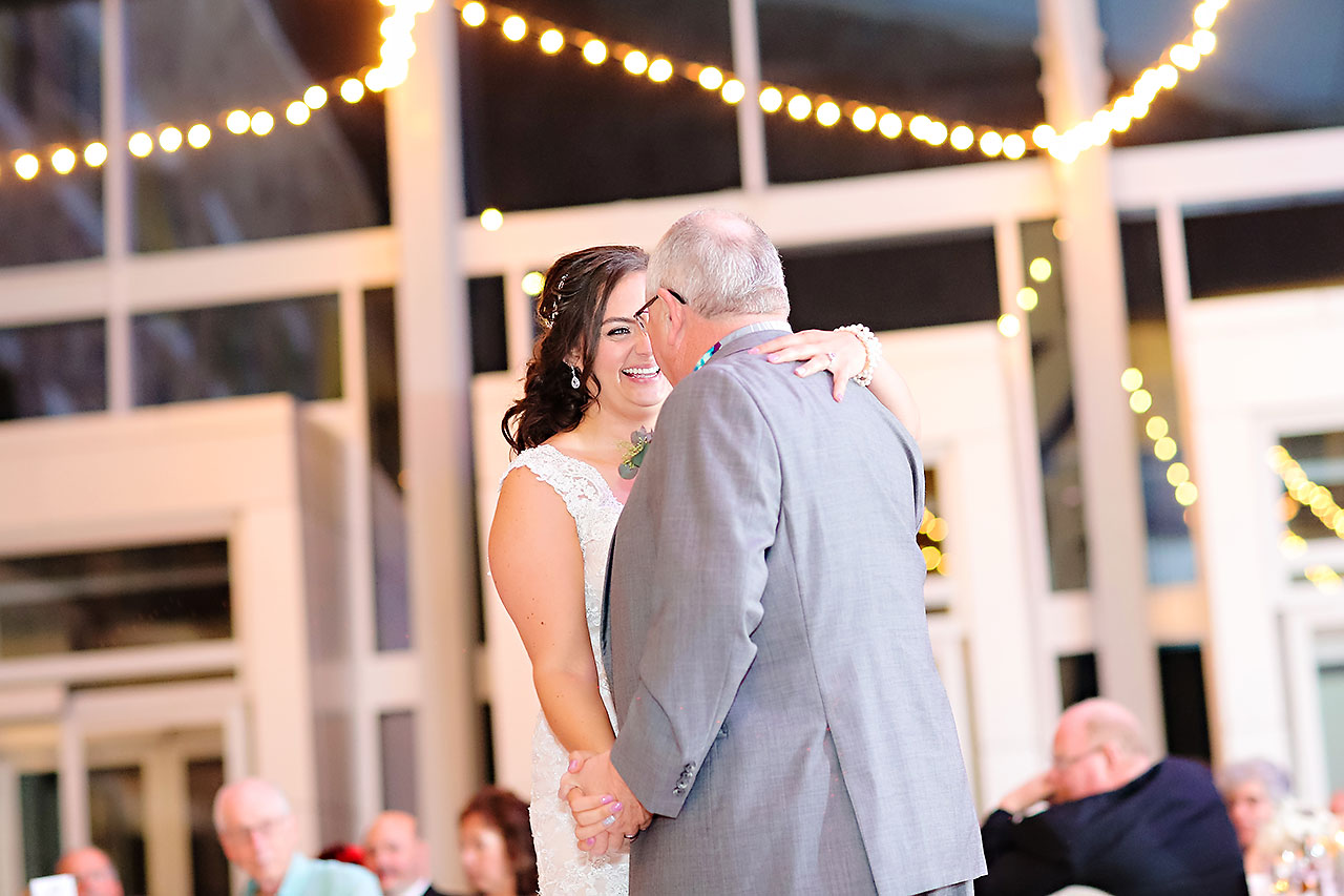 Kim Mike Indiana State Museum Wedding 291