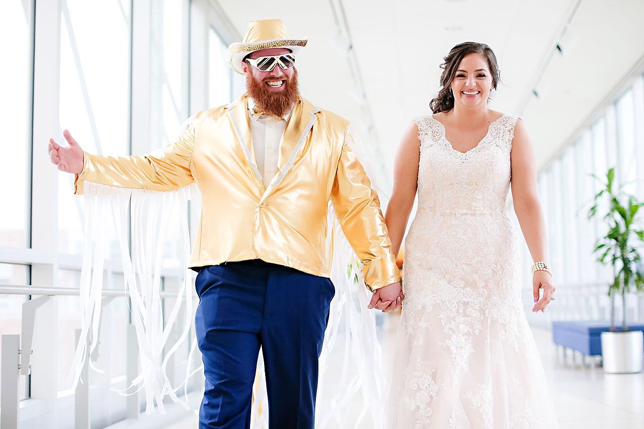 Kim Mike Indiana State Museum Wedding 261