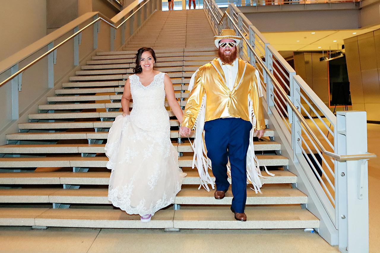 Kim Mike Indiana State Museum Wedding 262
