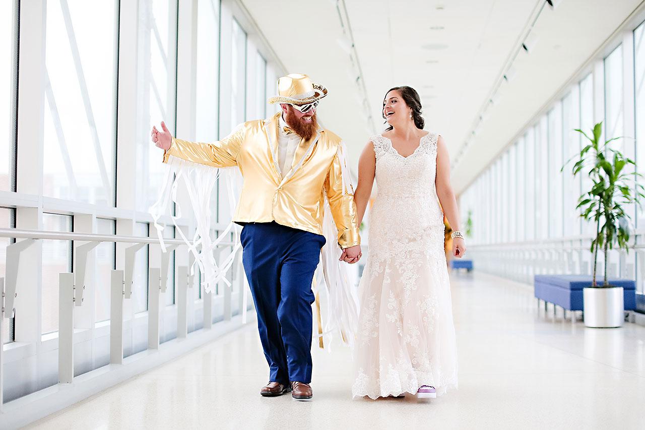 Kim Mike Indiana State Museum Wedding 260