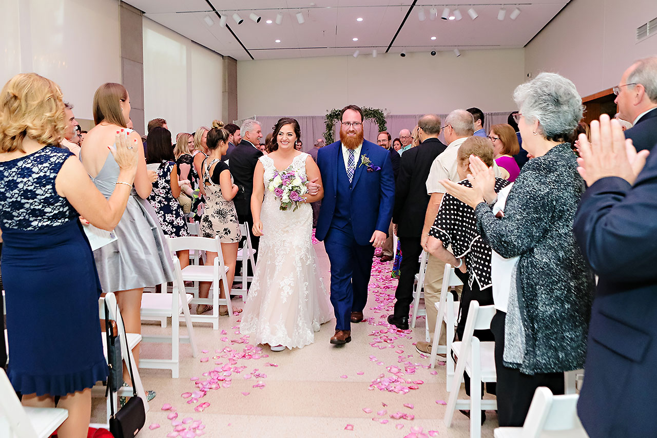 Kim Mike Indiana State Museum Wedding 209