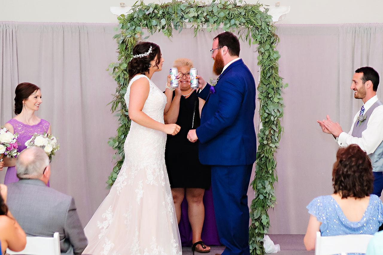 Kim Mike Indiana State Museum Wedding 205