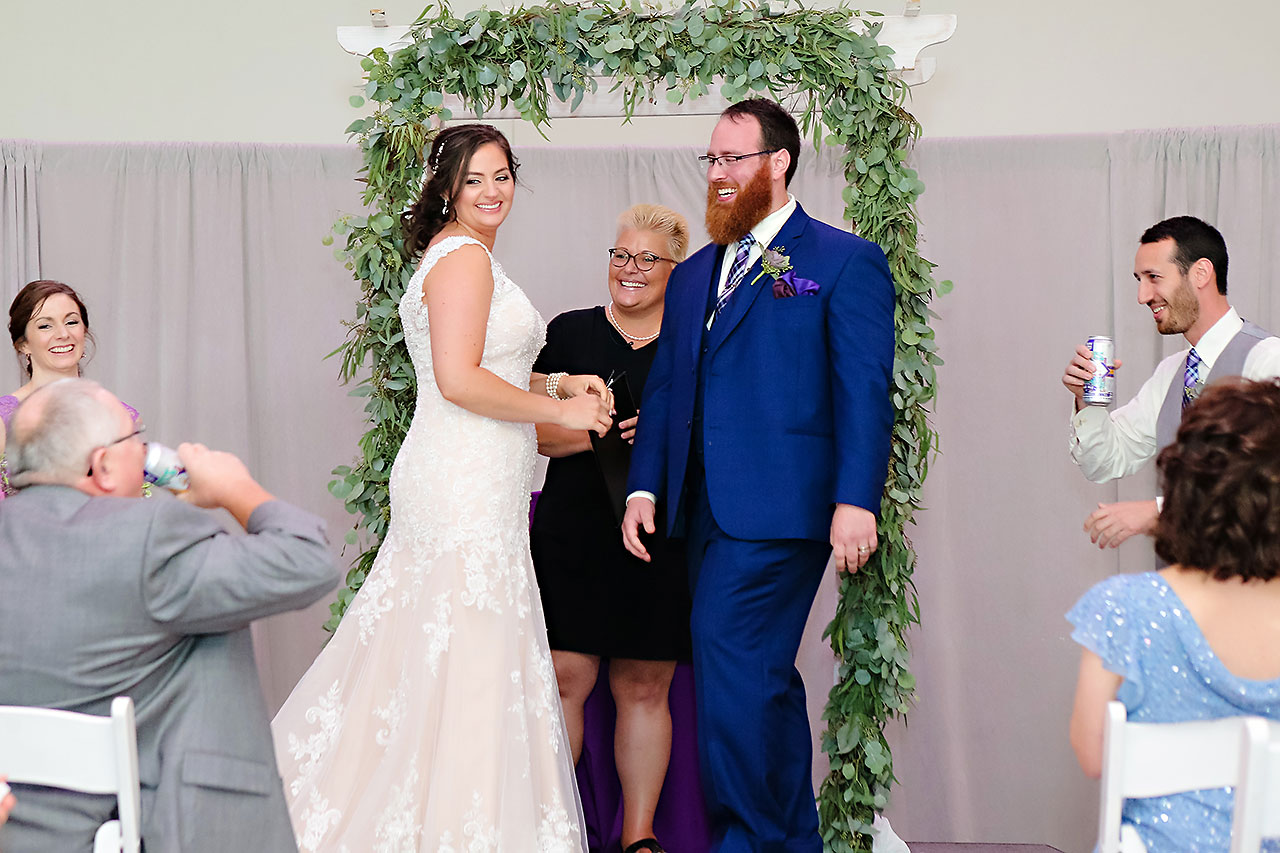 Kim Mike Indiana State Museum Wedding 206