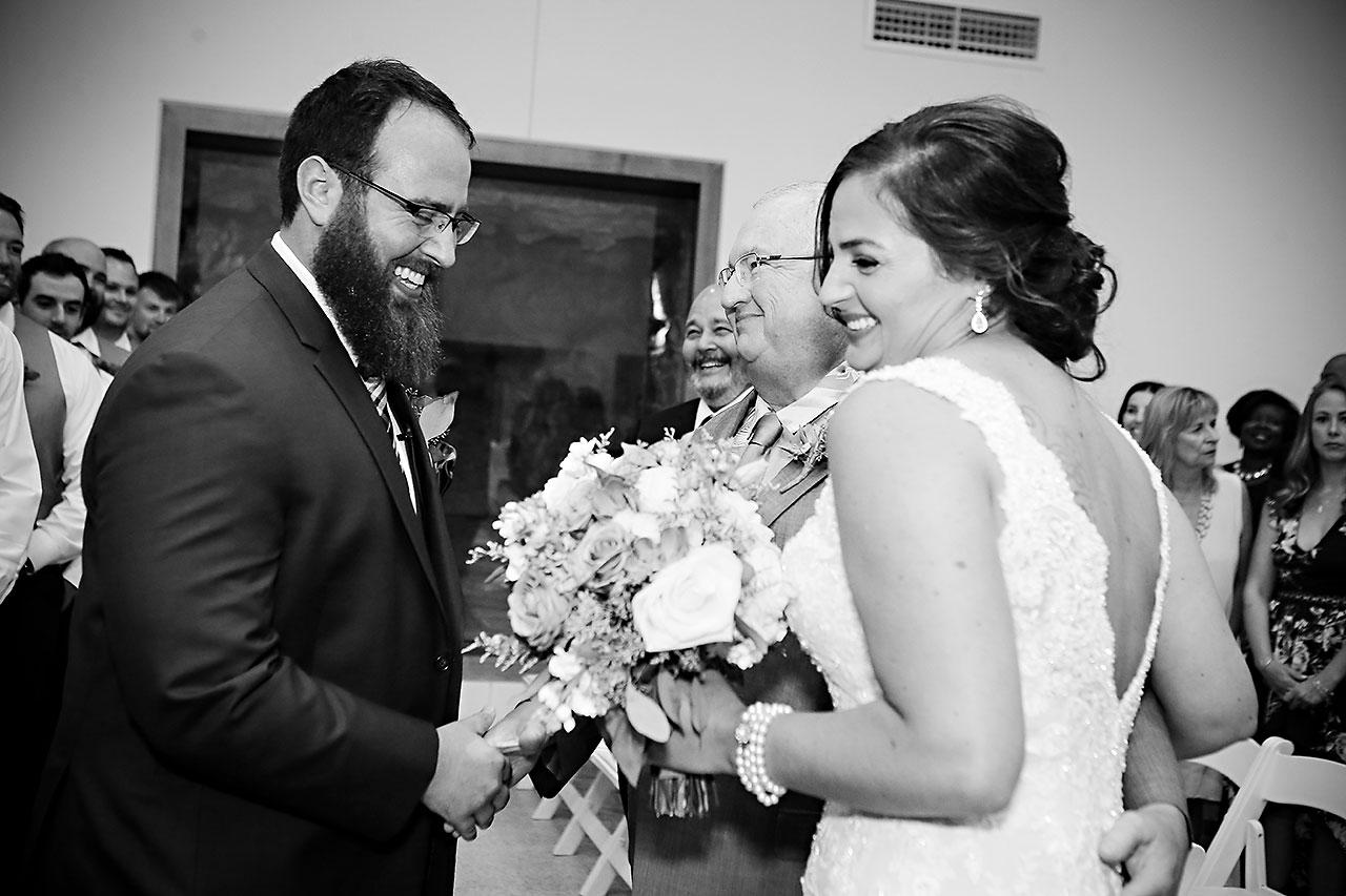 Kim Mike Indiana State Museum Wedding 202