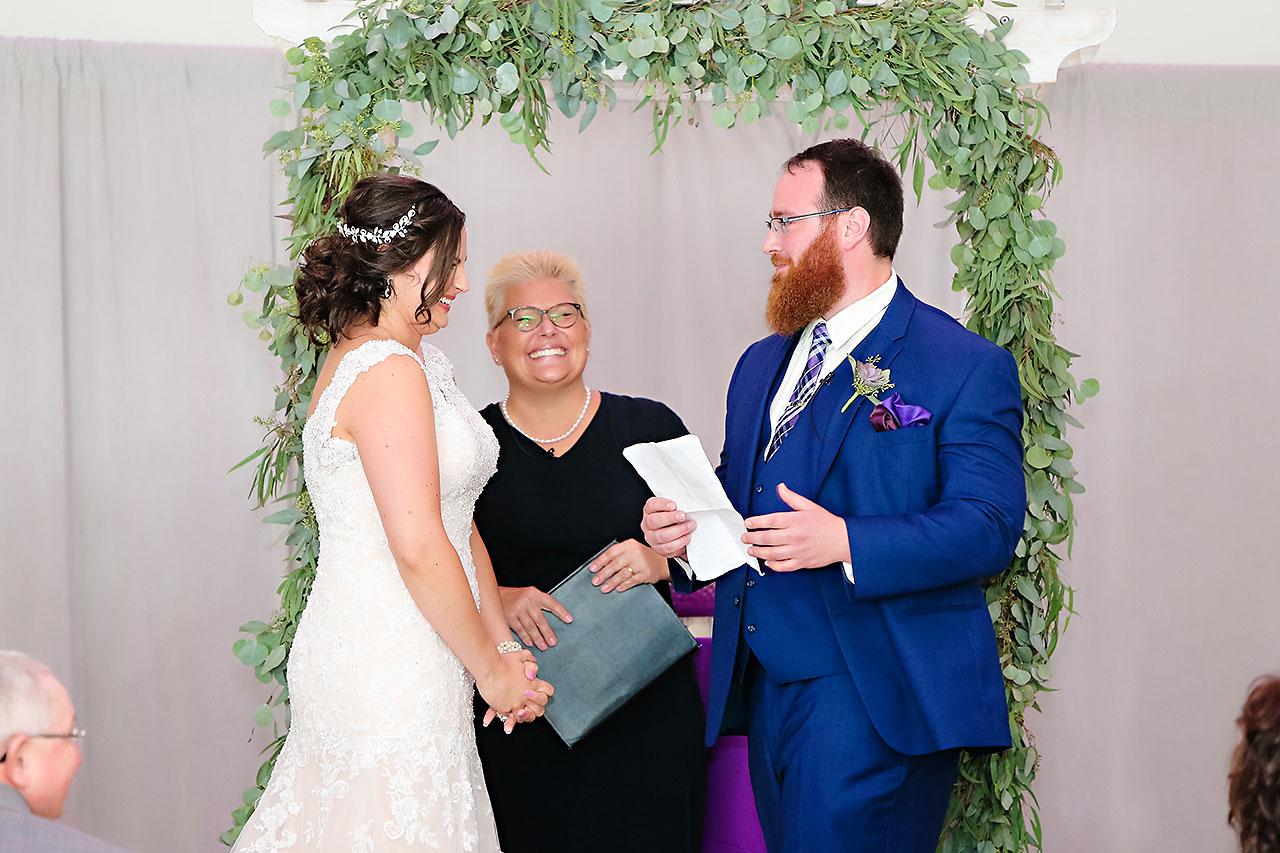 Kim Mike Indiana State Museum Wedding 203