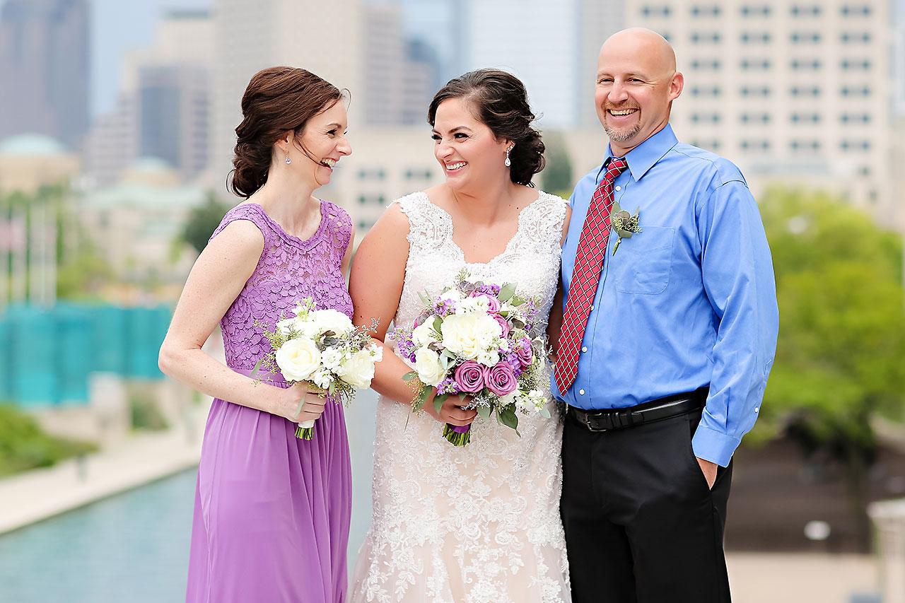 Kim Mike Indiana State Museum Wedding 193