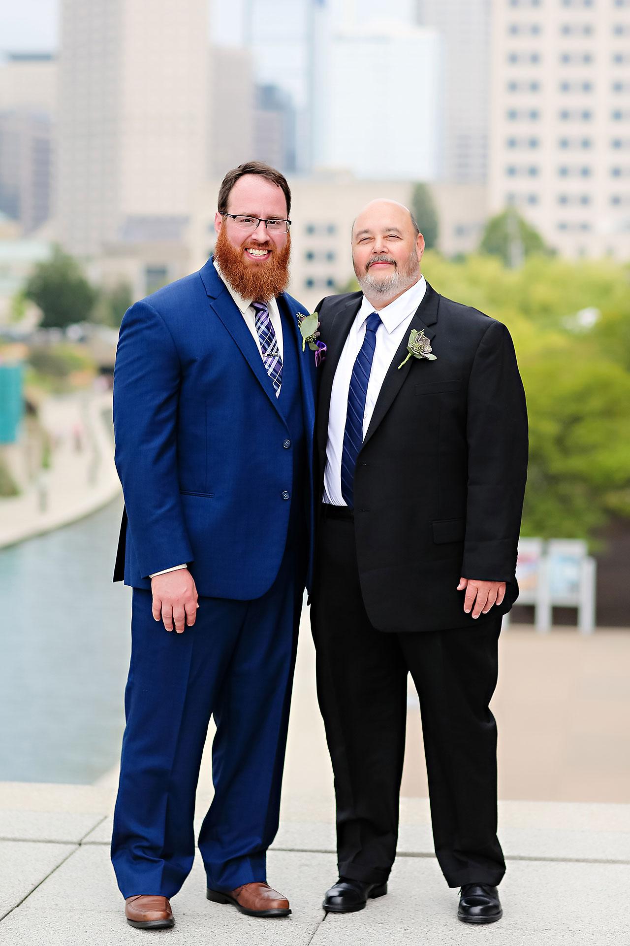 Kim Mike Indiana State Museum Wedding 186