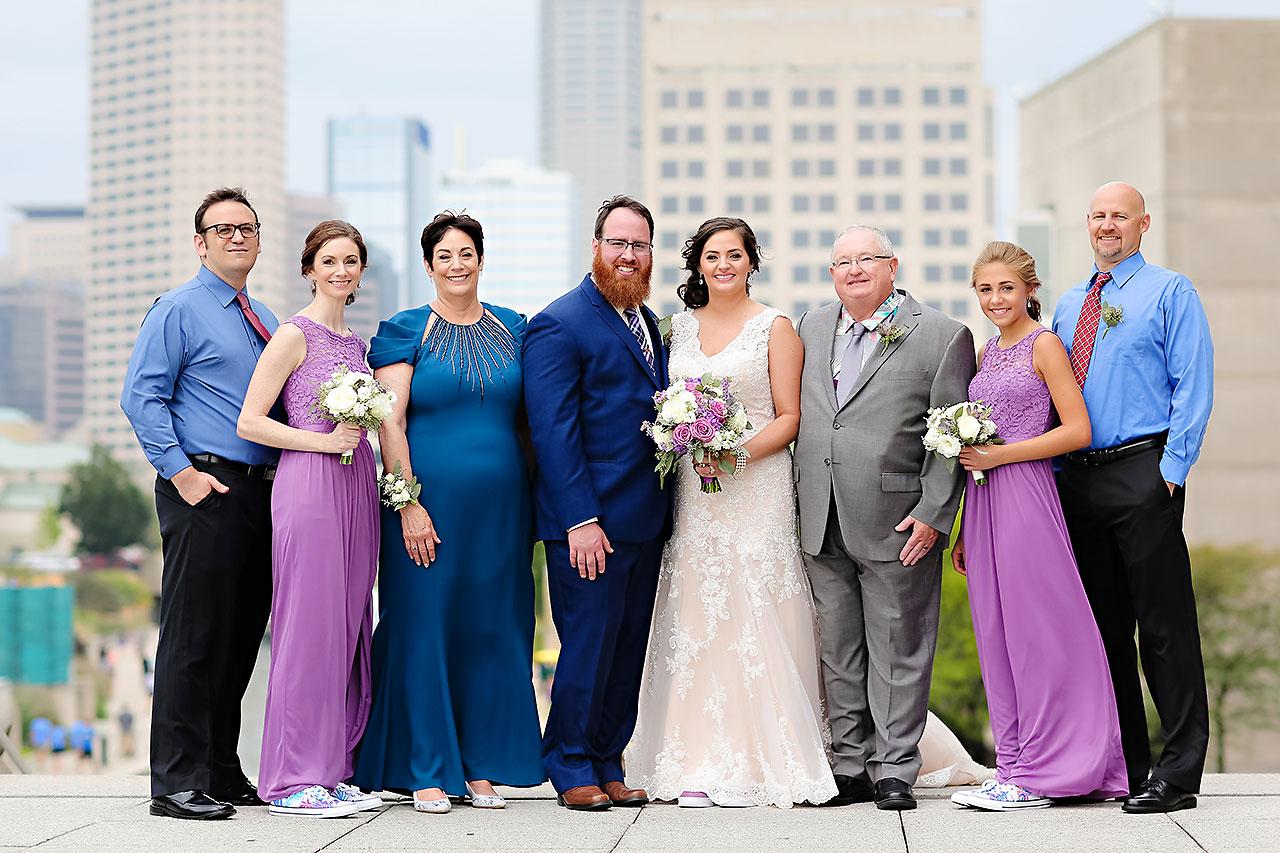 Kim Mike Indiana State Museum Wedding 184