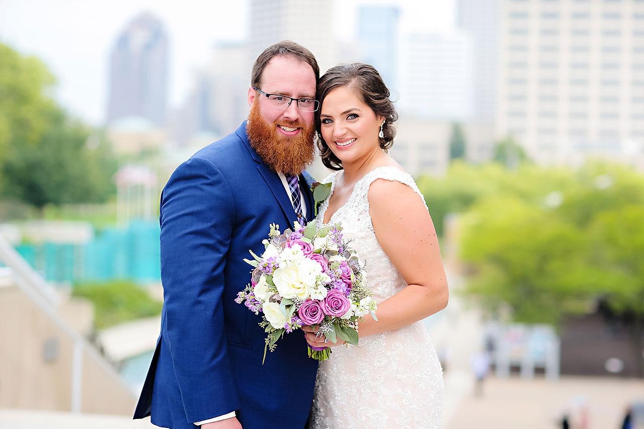 Kim Mike Indiana State Museum Wedding 173