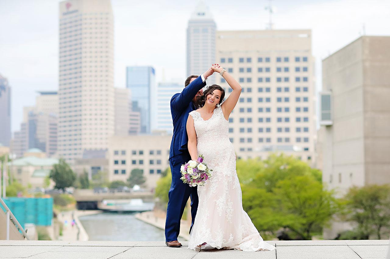 Kim Mike Indiana State Museum Wedding 174