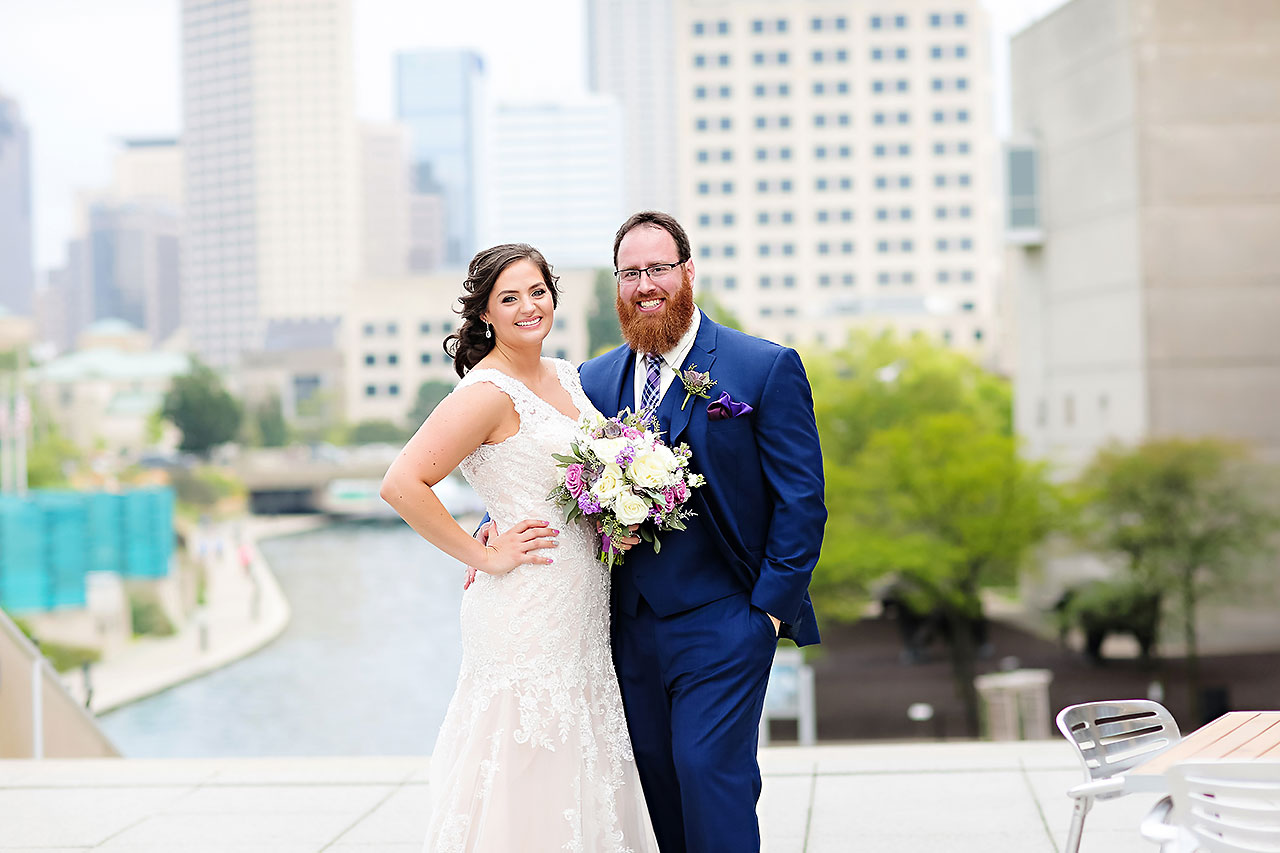 Kim Mike Indiana State Museum Wedding 171