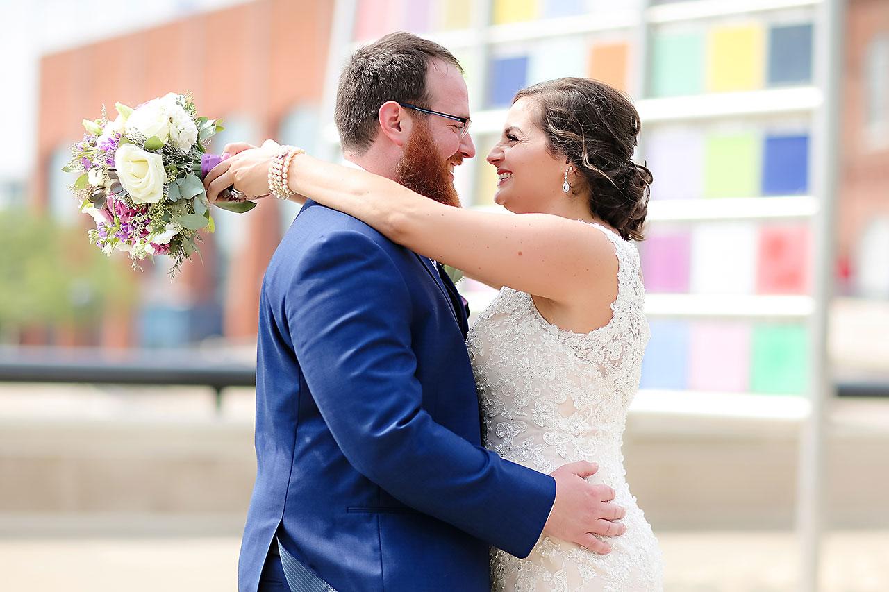 Kim Mike Indiana State Museum Wedding 165
