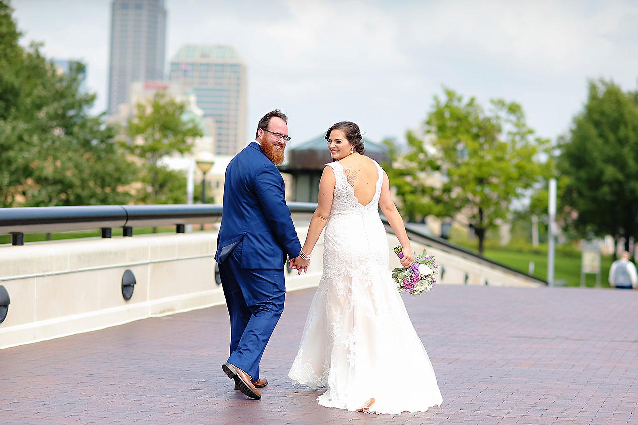Kim Mike Indiana State Museum Wedding 163