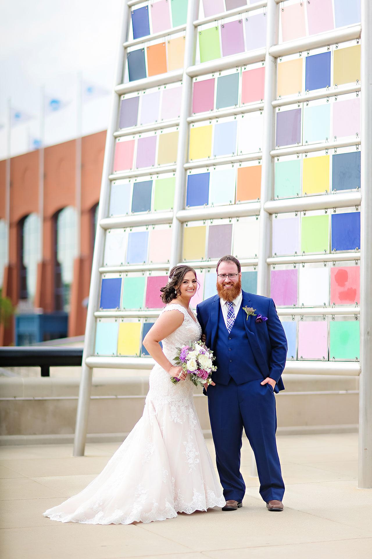 Kim Mike Indiana State Museum Wedding 159