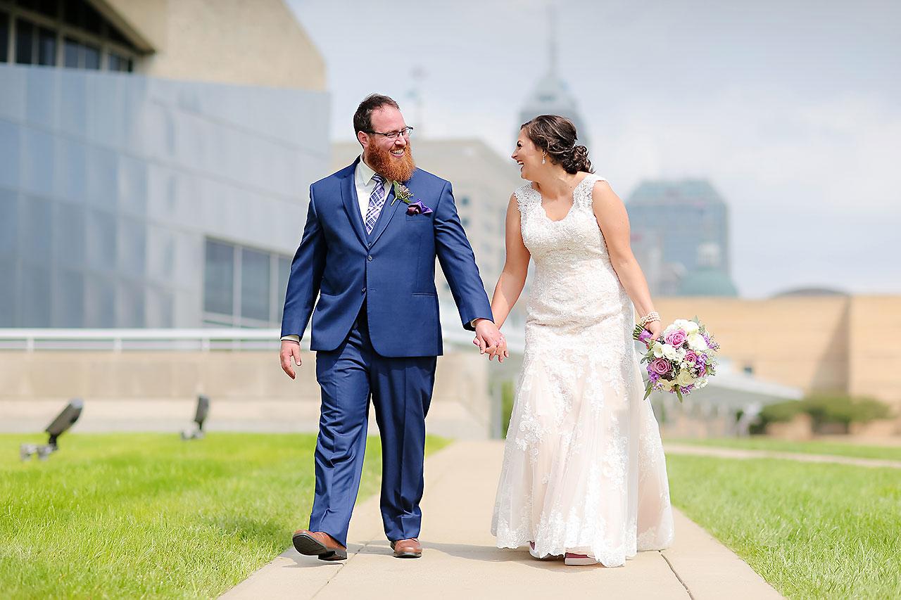 Kim Mike Indiana State Museum Wedding 161