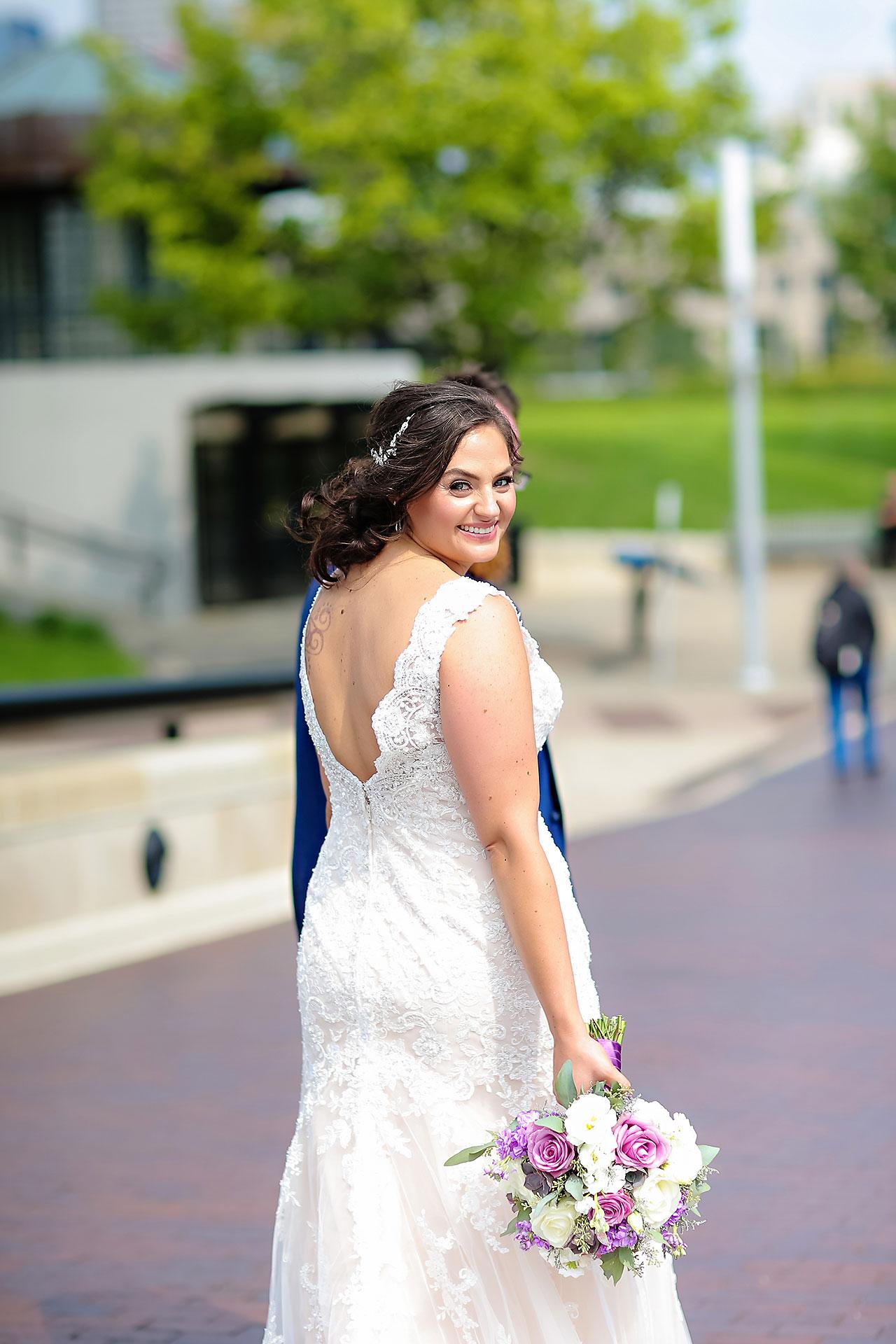 Kim Mike Indiana State Museum Wedding 155