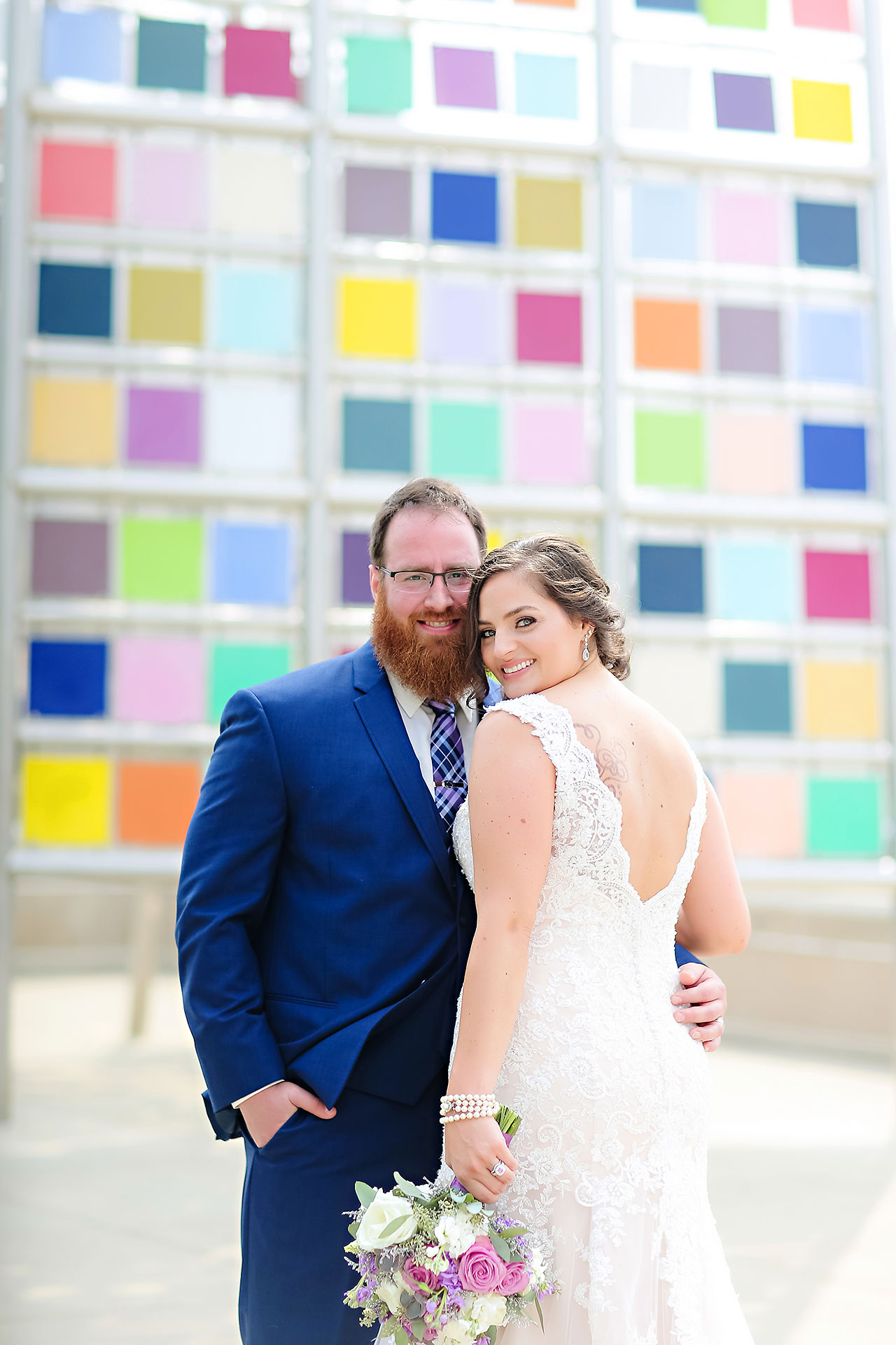Kim Mike Indiana State Museum Wedding 156