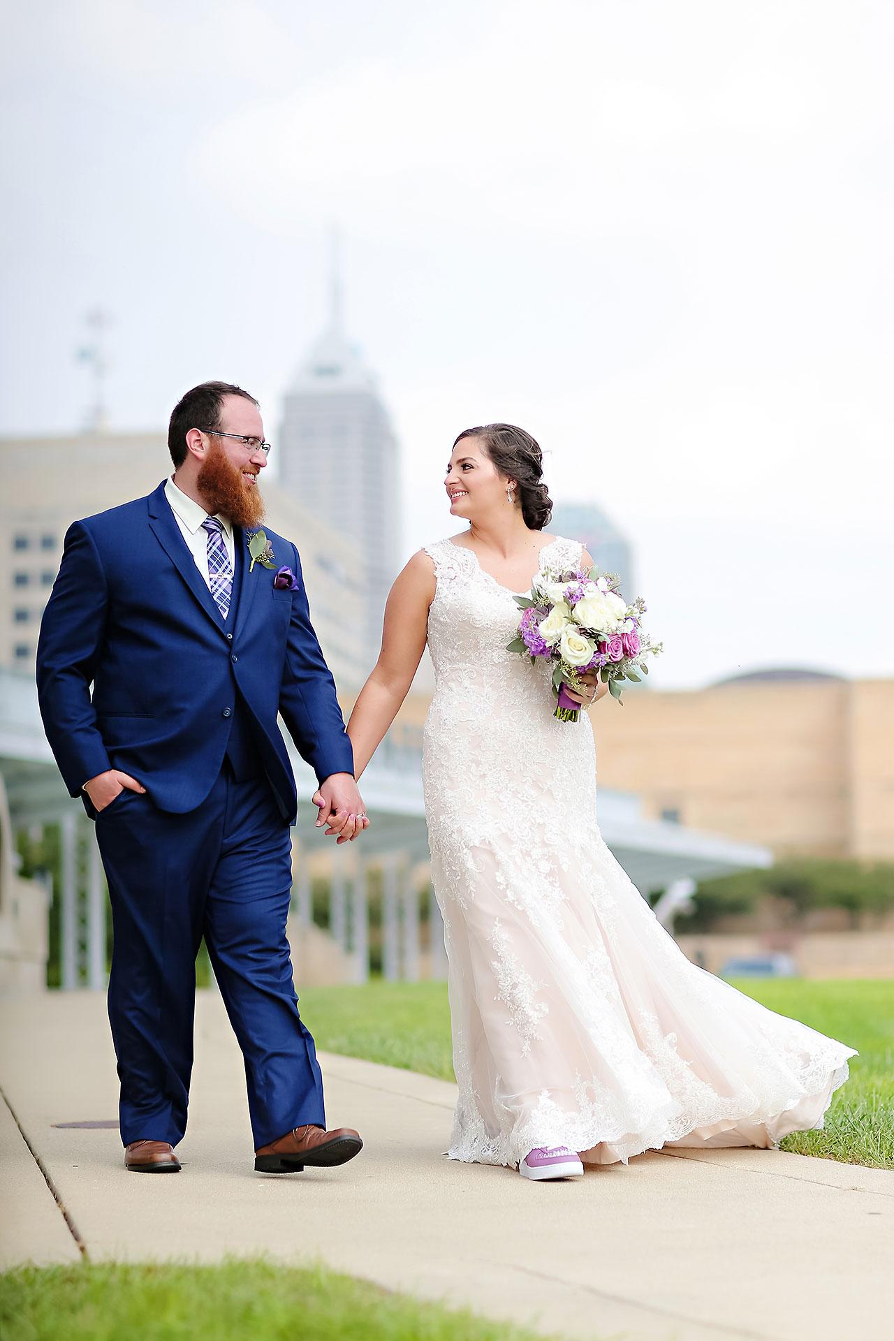Kim Mike Indiana State Museum Wedding 154
