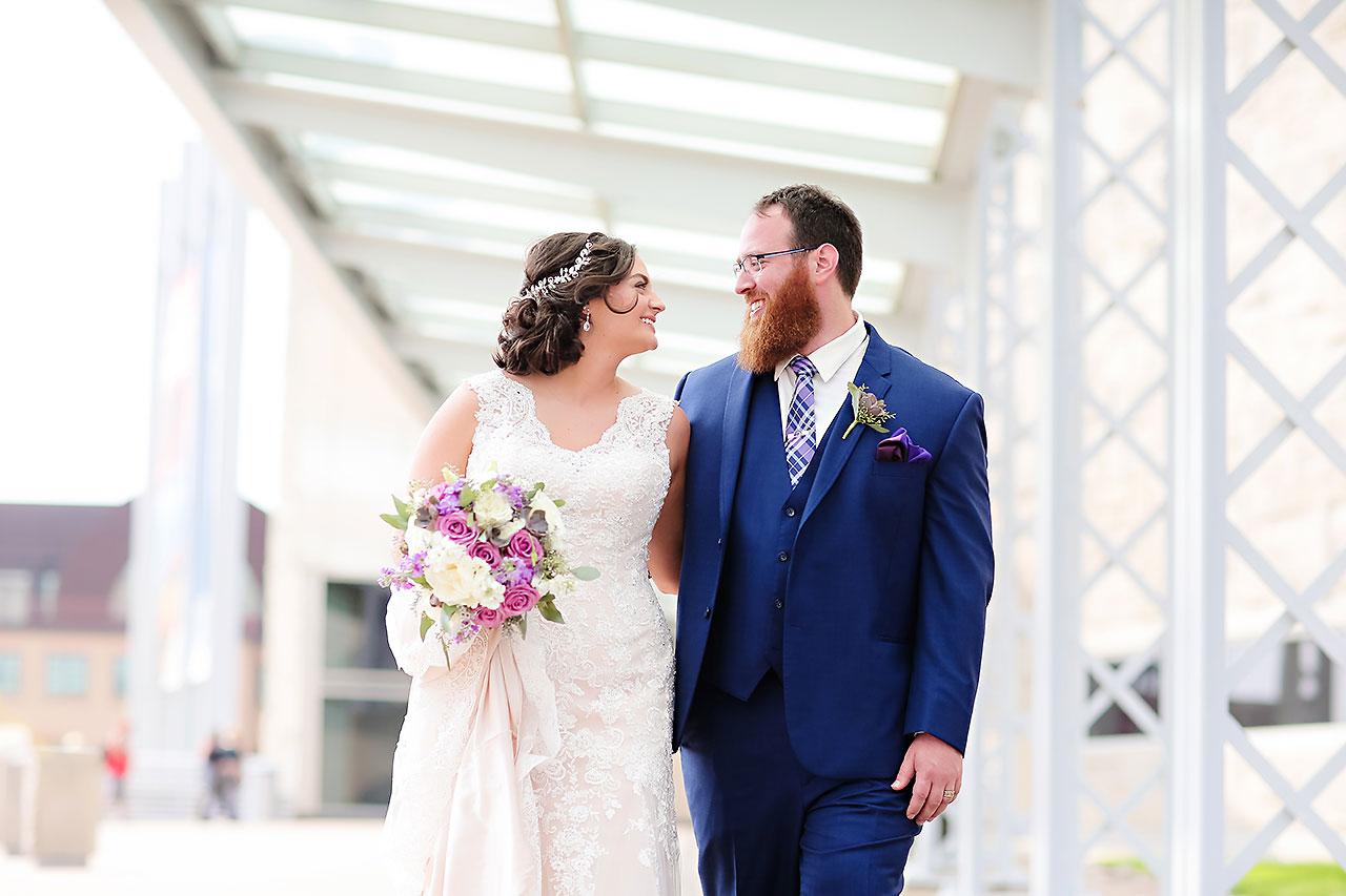 Kim Mike Indiana State Museum Wedding 150