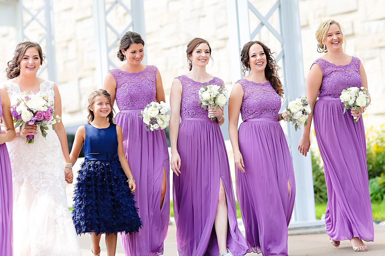 Kim Mike Indiana State Museum Wedding 149