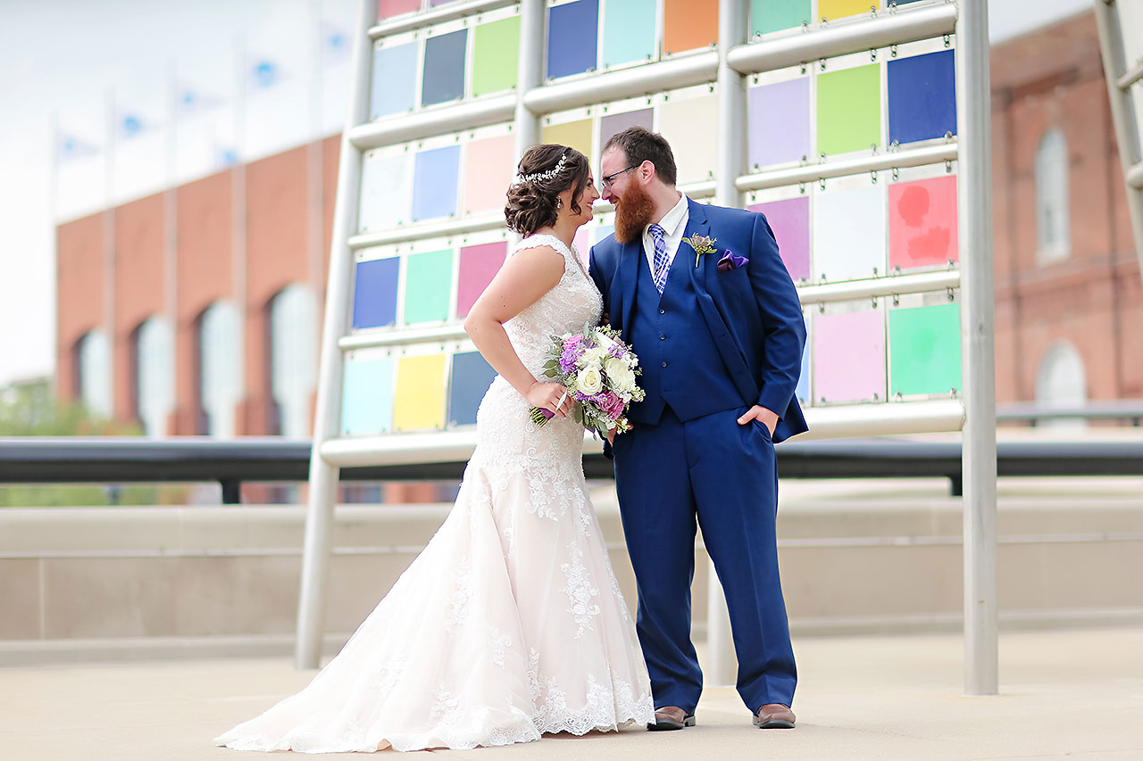 Kim Mike Indiana State Museum Wedding 146