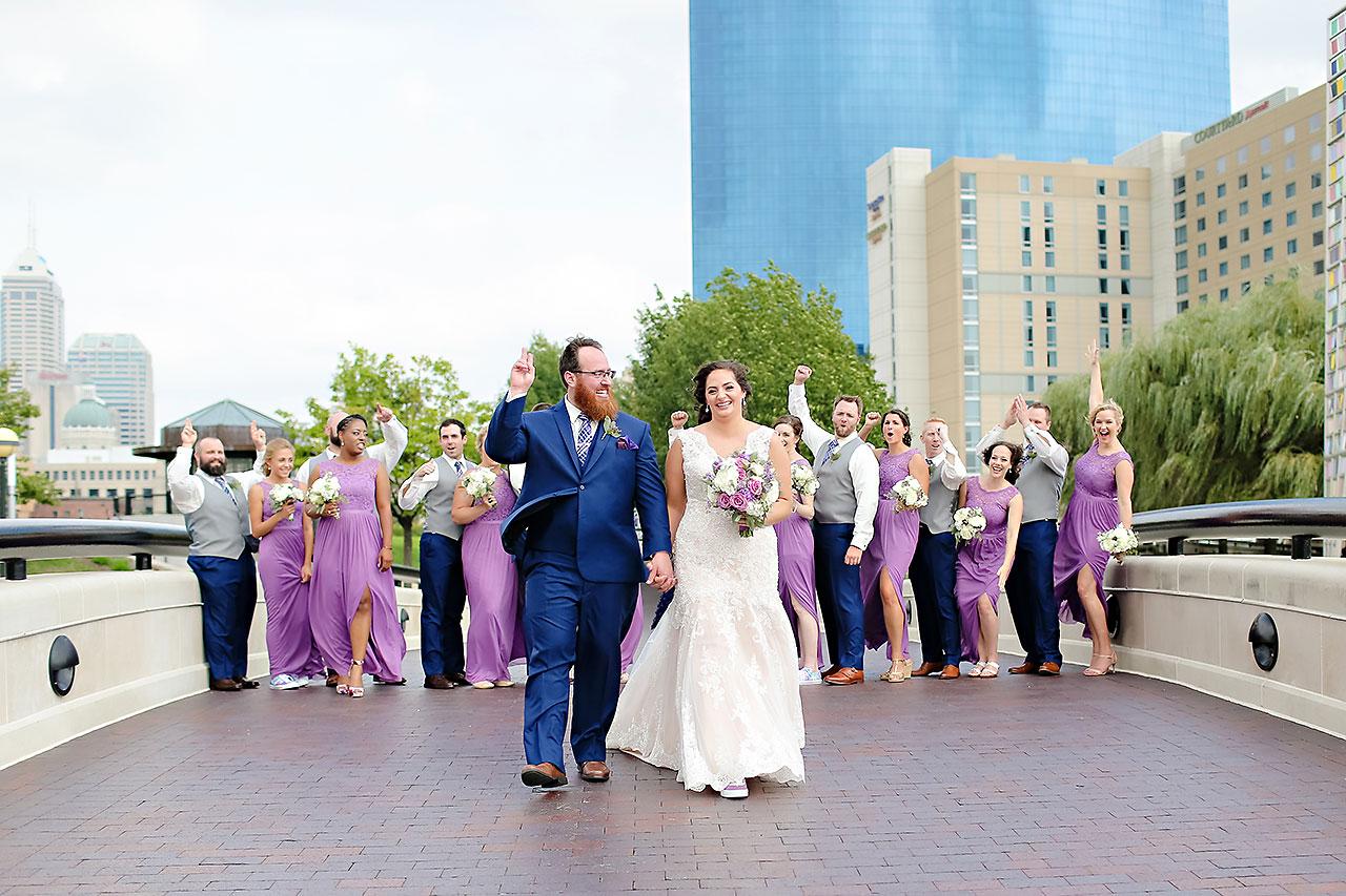 Kim Mike Indiana State Museum Wedding 145