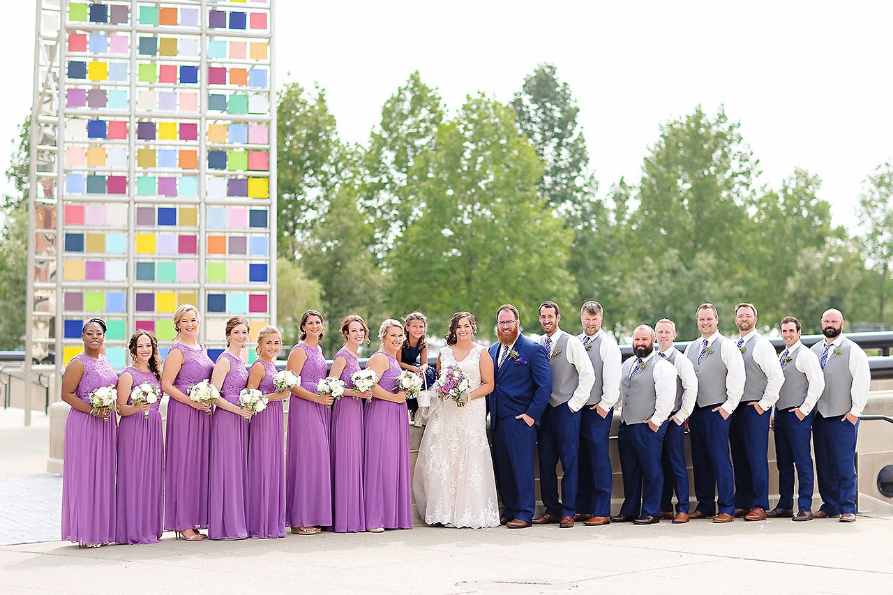 Kim Mike Indiana State Museum Wedding 141