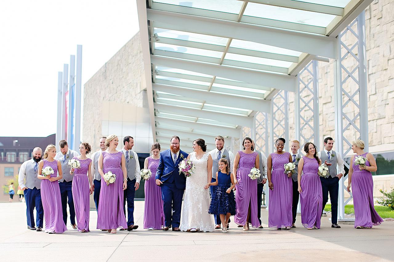 Kim Mike Indiana State Museum Wedding 136