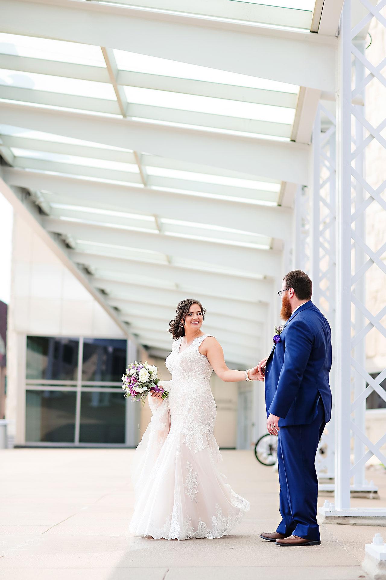 Kim Mike Indiana State Museum Wedding 133
