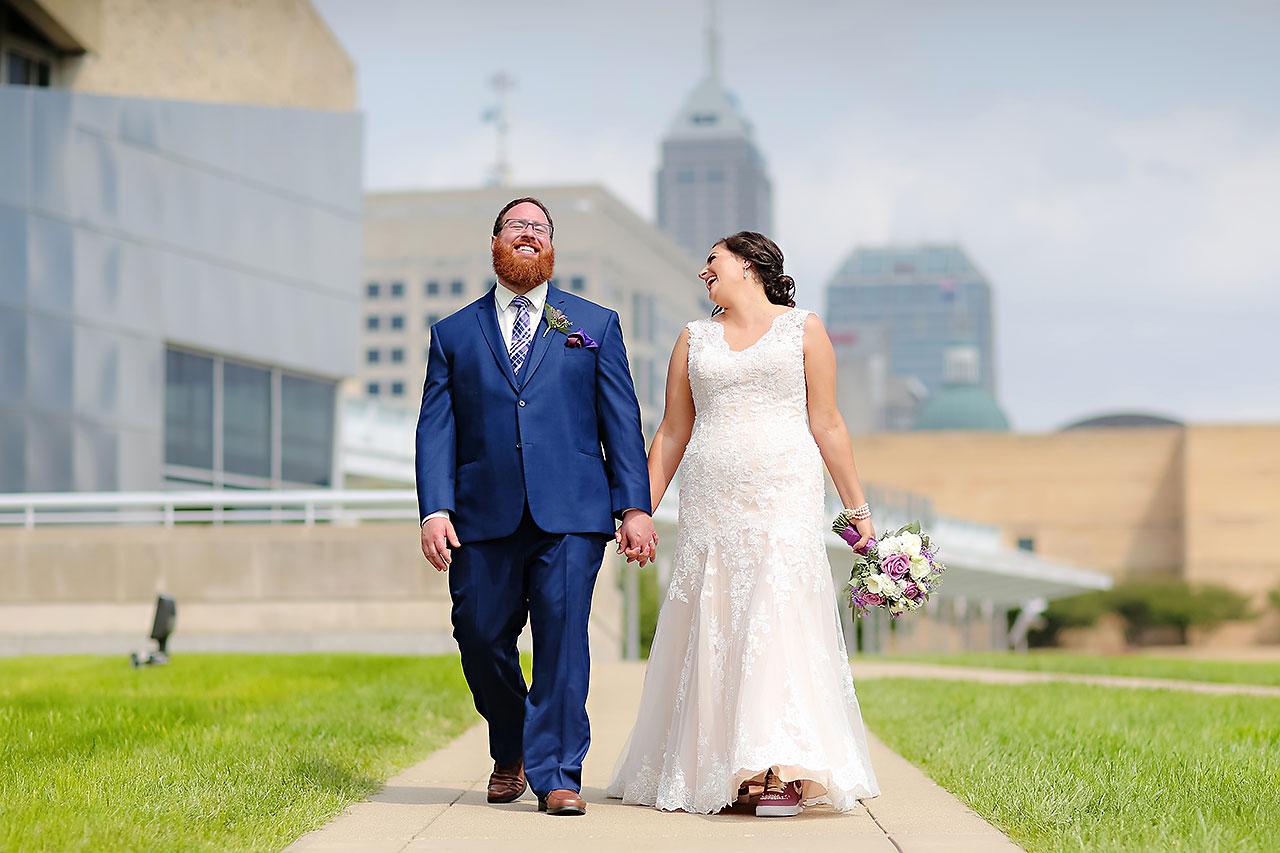 Kim Mike Indiana State Museum Wedding 125