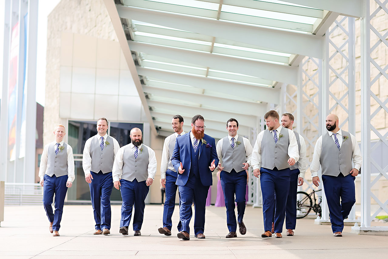 Kim Mike Indiana State Museum Wedding 122