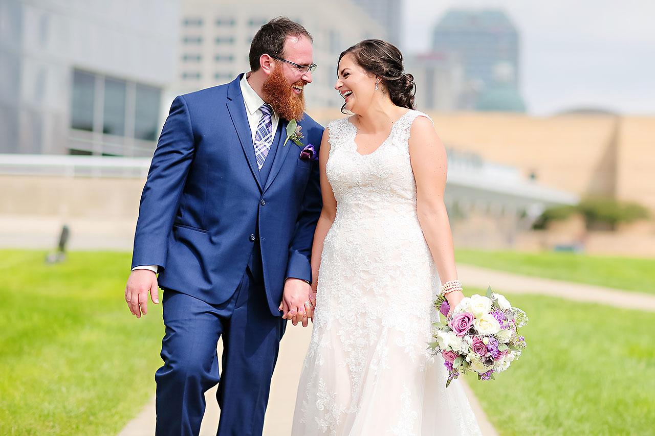 Kim Mike Indiana State Museum Wedding 123