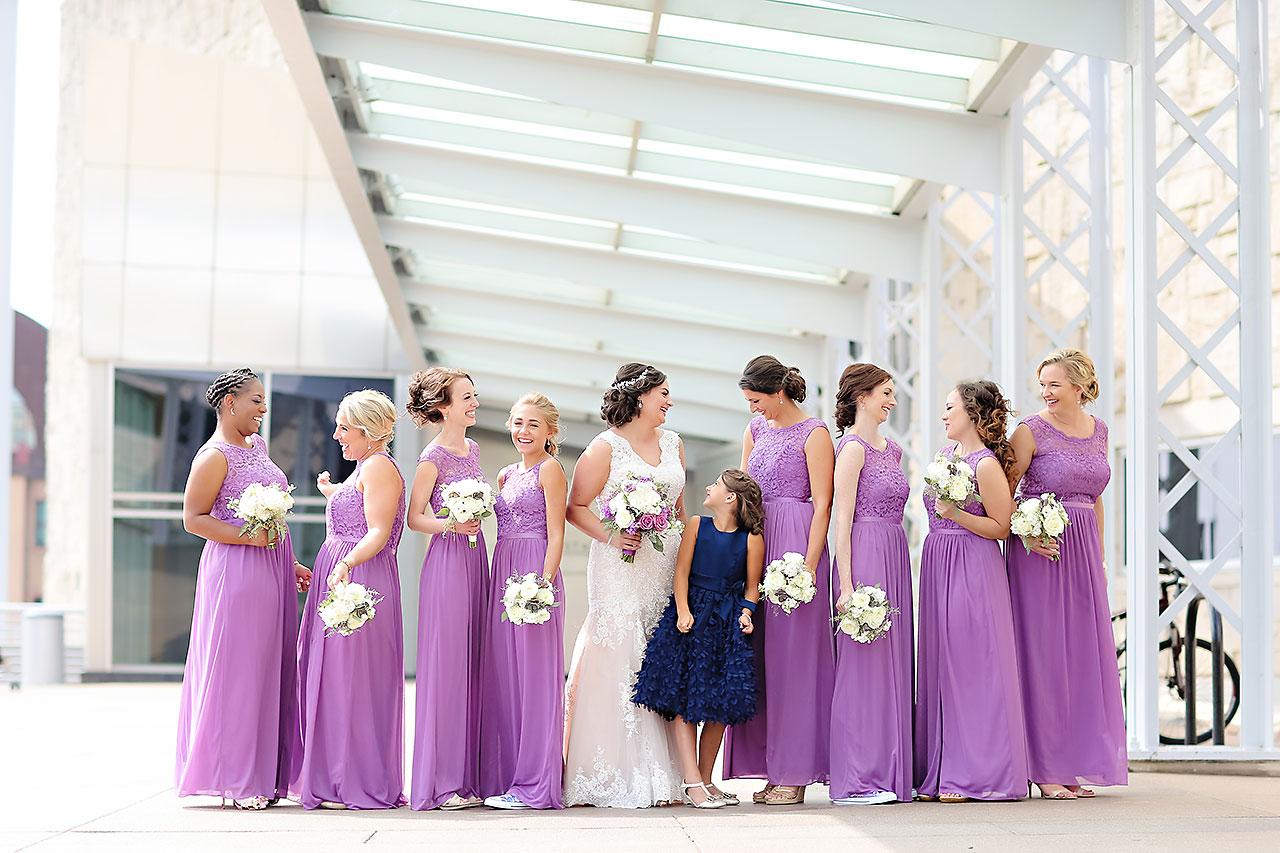 Kim Mike Indiana State Museum Wedding 124