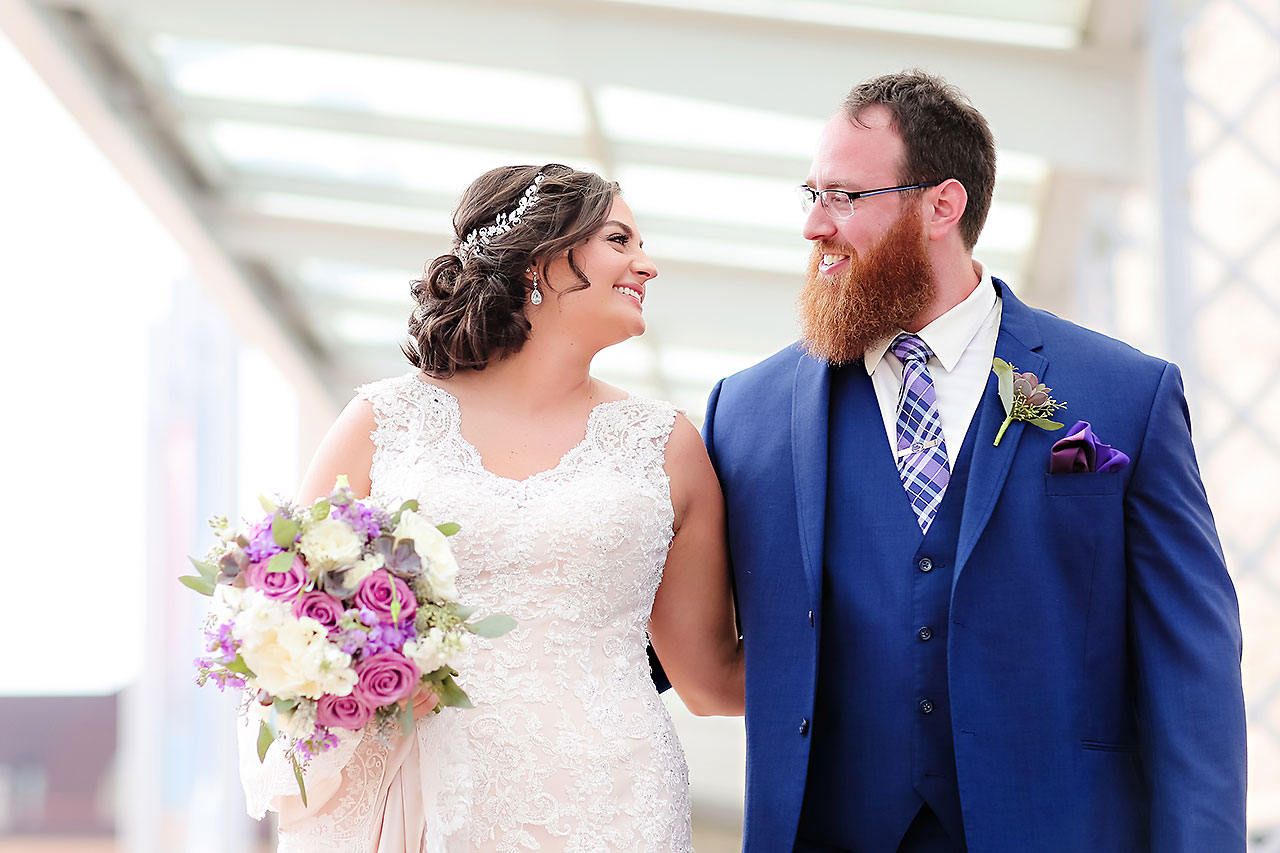 Kim Mike Indiana State Museum Wedding 117