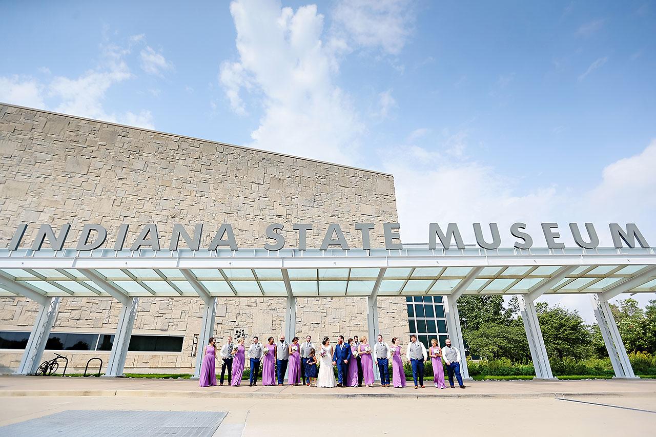 Kim Mike Indiana State Museum Wedding 118