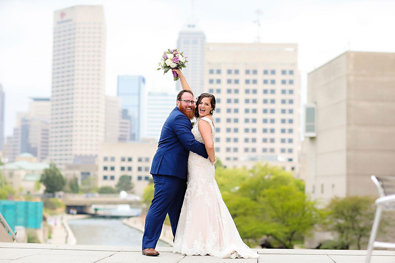 Kim Mike Indiana State Museum Wedding 119